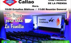 Cine Palacio de la Prensa | Estudios Bíblicos